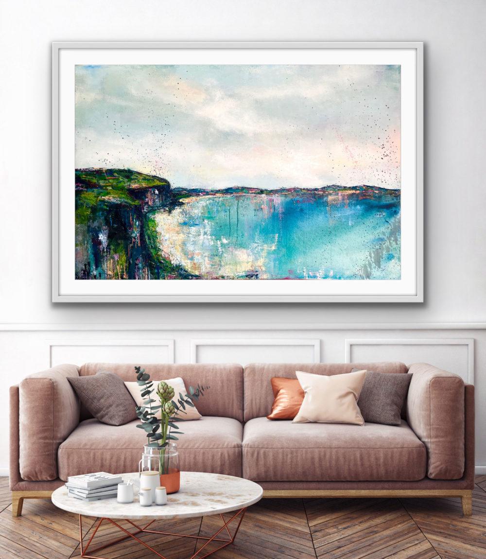Whiterocks-Beach,-Portrush.-Full-on-wall
