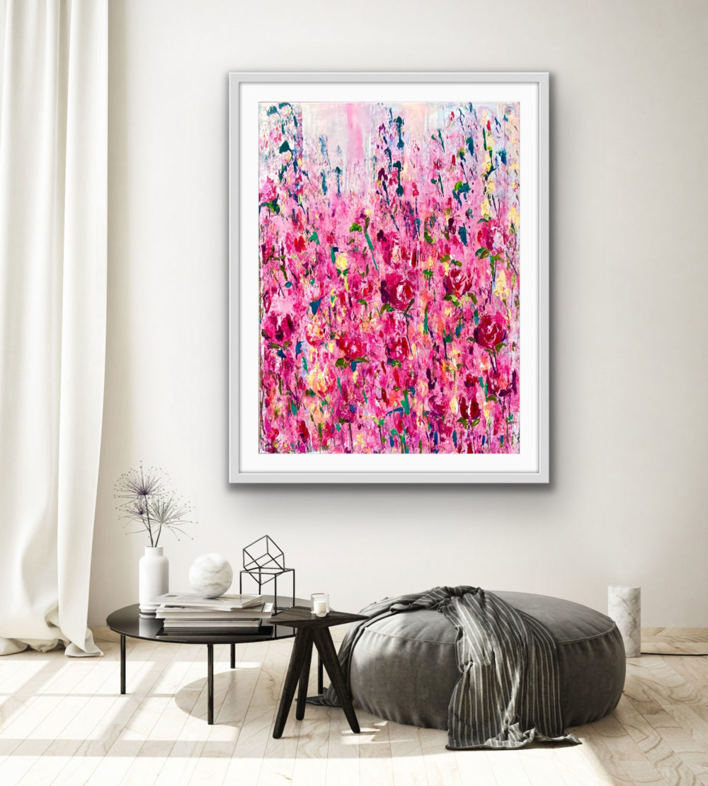 Pink-Bloom-on-wall
