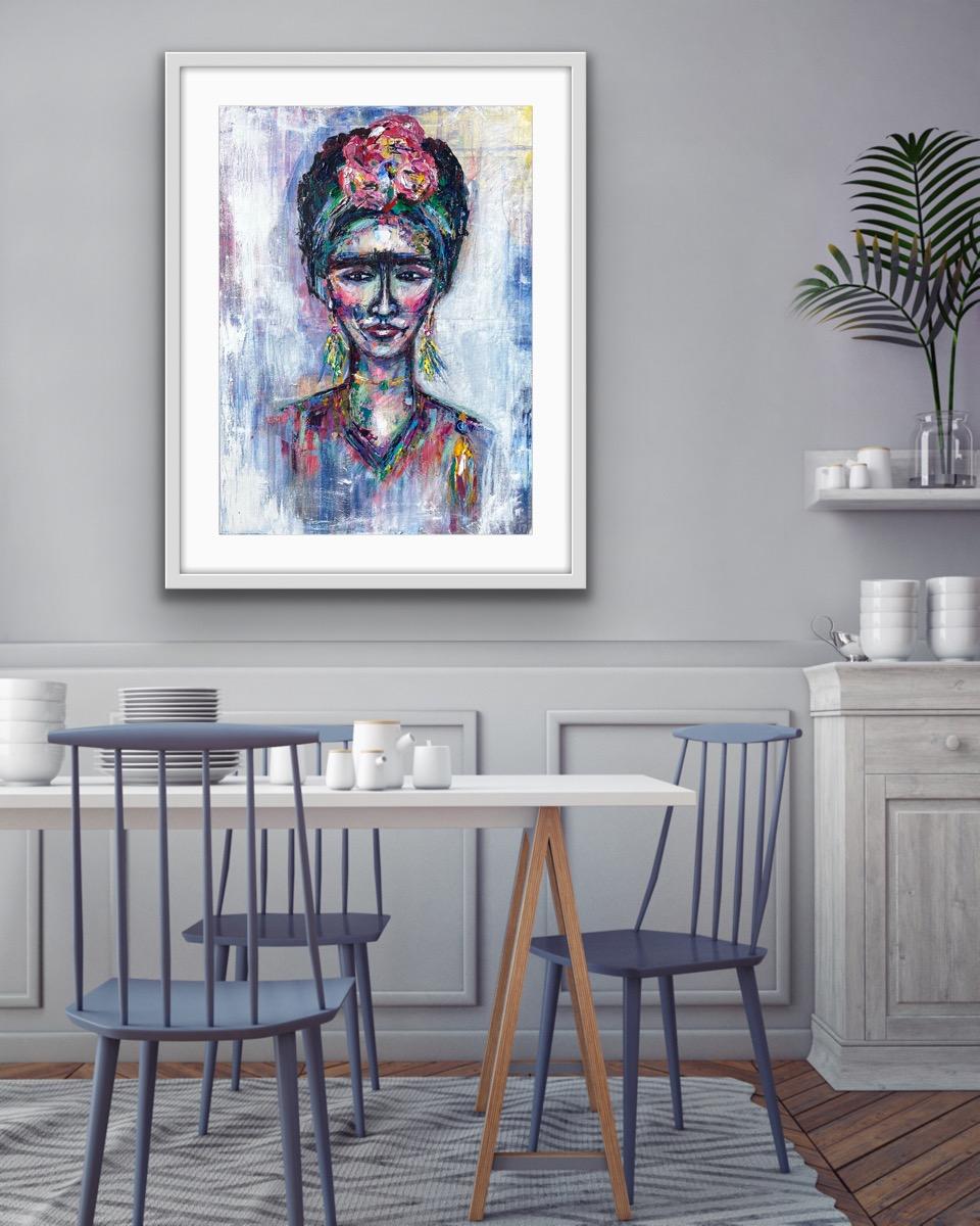 Frida on wall