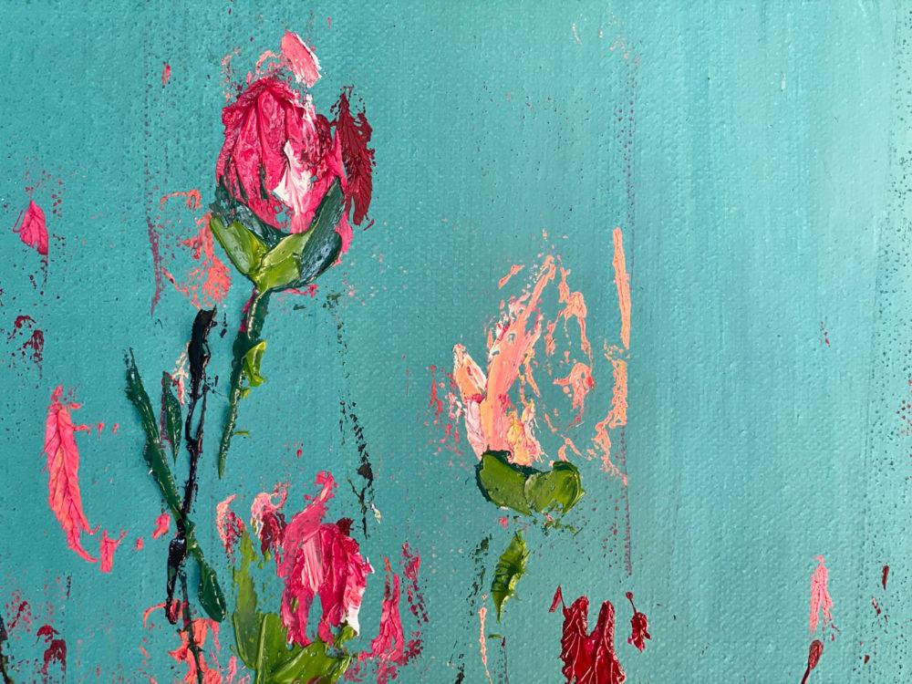 Roses Bloom Detail 1