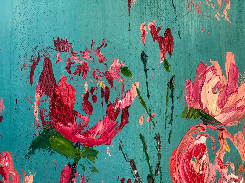 Roses Bloom Detail 2