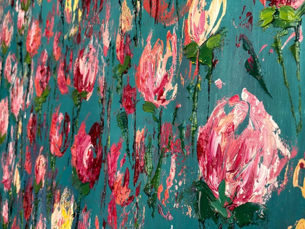 Roses Bloom Detail 6
