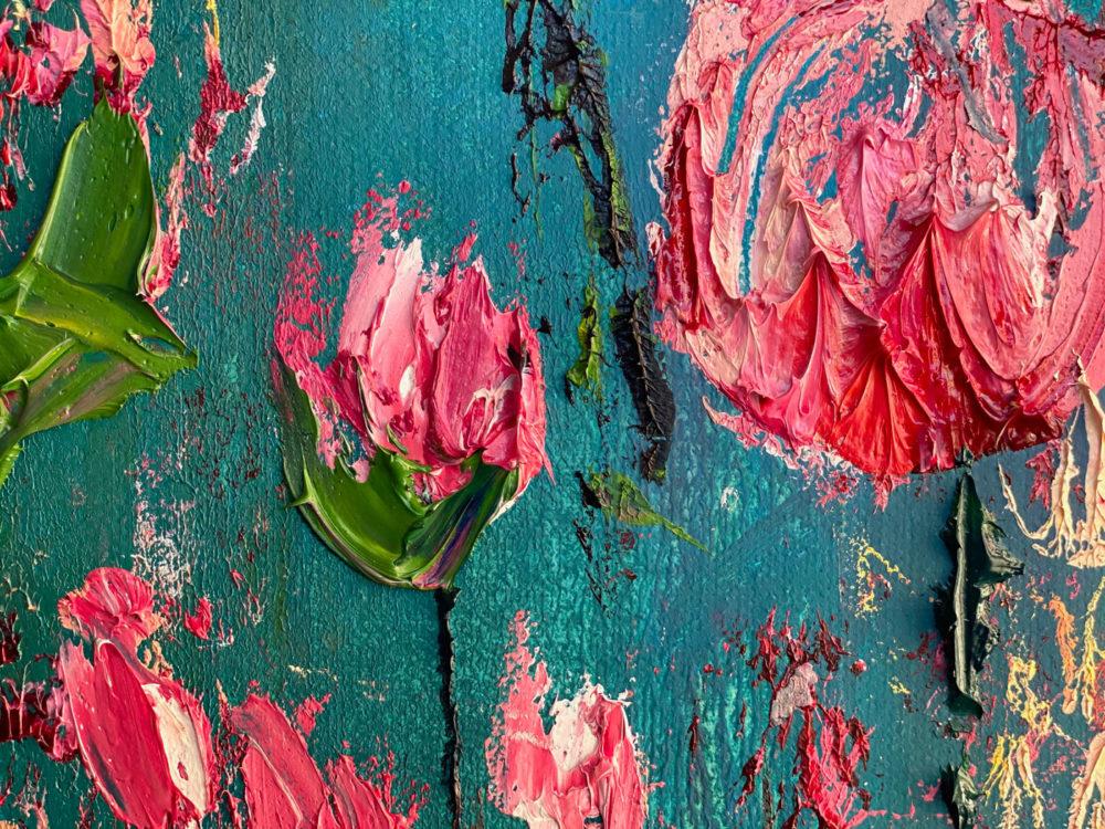 Roses Bloom Detail 3