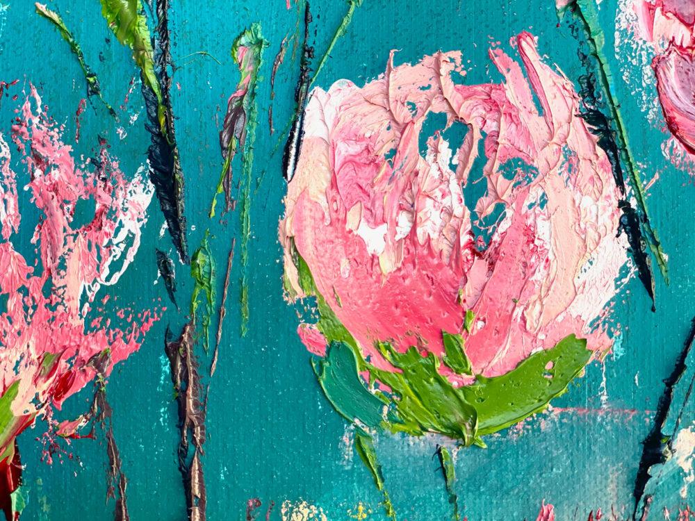 Roses Bloom Detail 4