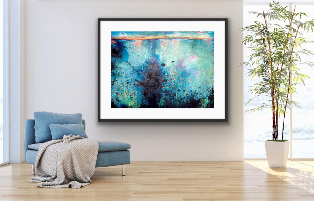 Deep Sea Fishing on wall