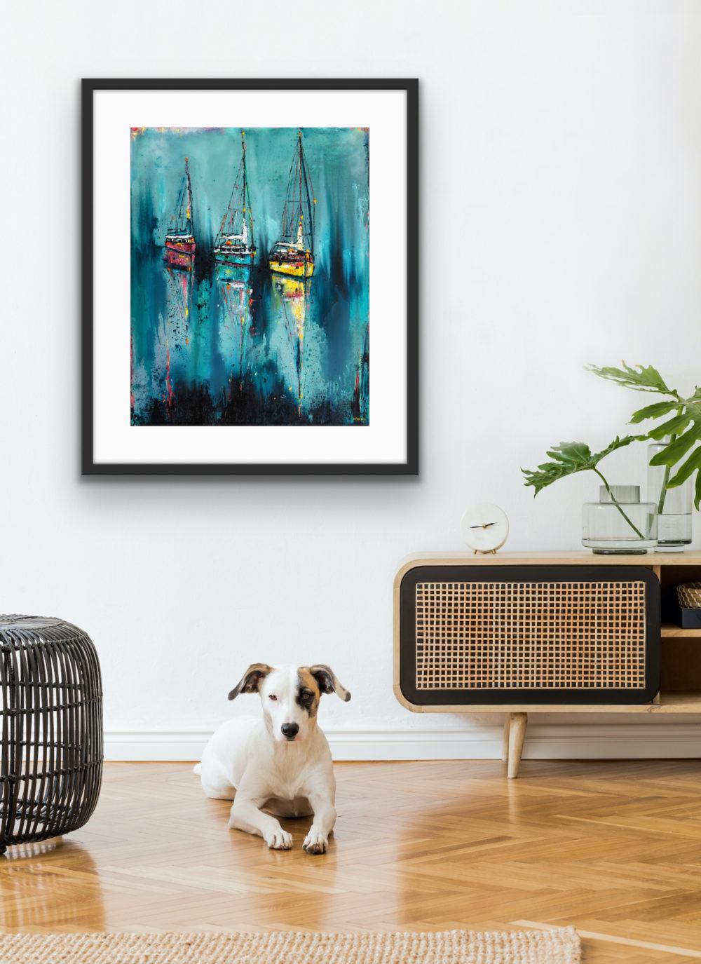 Kinsale Boats - In Room