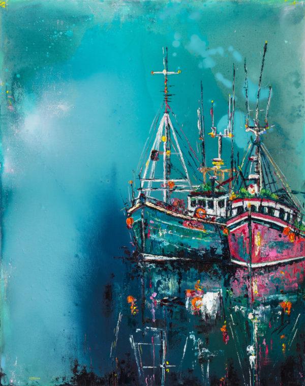 Boats-at-Dingle-Bay