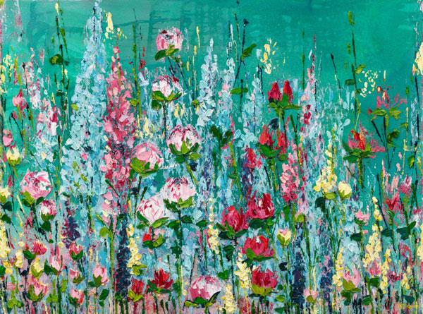 Wildflower-Meadow,-Small